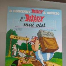 Cómics: ASTÉRIX L'ASTERIX MAI VIST SALVAT CATALÀ 2003. Lote 262685465