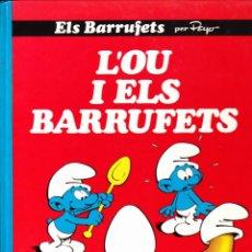 Cómics: COMIC COLECCIO ELS BARRUFETS L'OU I ELS BARRUFETS. Lote 262753765