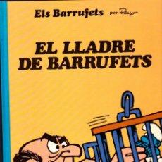 Cómics: COMIC COLECCIO BARRUFETS EL LLADRE DE BARRUFETS. Lote 262754780