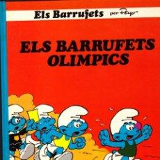 Cómics: COMIC COLECCIO BARRUFETS ELS BARRUFETS OLIMPICS. Lote 262755010