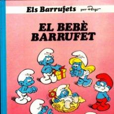 Cómics: COMIC COLECCIO BARRUFETS EL BEBE BARRUFET. Lote 262755095