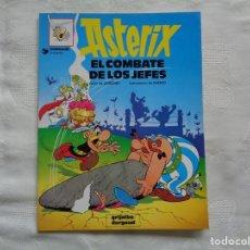 Cómics: GOSCINNY / UDERZO. EL COMBATE DE LOS JEFES. 1996. Lote 262777040