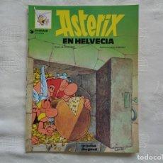 Cómics: GOSCINNY / UDERZO. ASTERIX EN HELVECIA. 1997. TRADUCCIÓN DE VÍCTOR MORA.. Lote 262779530