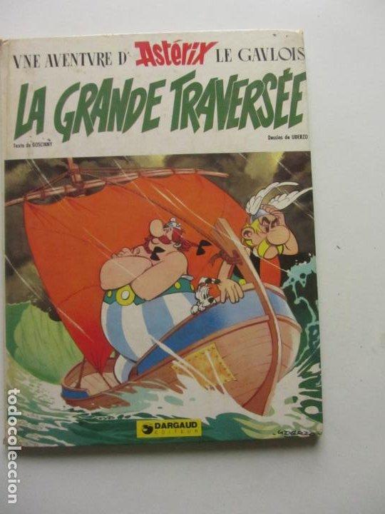 UNE AVENTURE D' ASTERIX LE GAVLOIS. LE GRANDE TRAVERSÉE. UDERZO / GOSCINNY. EN FRANCES ARX96 (Tebeos y Comics - Grijalbo - Asterix)