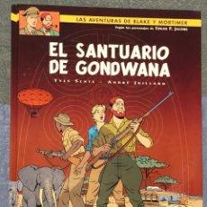 Cómics: LAS AVENTURAS DE BLAKE Y MORTIMER Nº18. EL SANTUARIO DE GODWANA. Lote 262866500