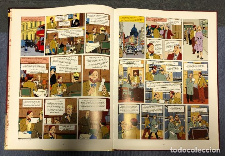 Cómics: LAS AVENTURAS DE BLAKE Y MORTIMER Nº18. EL SANTUARIO DE GODWANA - Foto 2 - 262866500