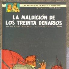 Cómics: LAS AVENTURAS DE BLAKE Y MORTIMER Nº19. LA MALDICION DE LOS TREINTA DENARIOS. TOMO 1. Lote 262866695