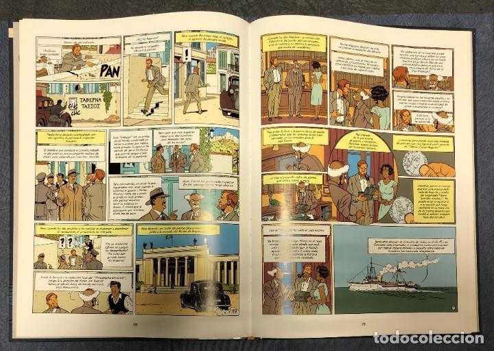 Cómics: LAS AVENTURAS DE BLAKE Y MORTIMER Nº19. LA MALDICION DE LOS TREINTA DENARIOS. TOMO 1 - Foto 2 - 262866695