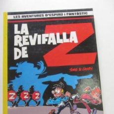 Cómics: LA REVIFALLA DE Z - TOME I JANRY - LES AVENTURES DE ESPIRU I FANTÁSTIC 23 EN CATALÀ JUNIOR. Lote 262989475