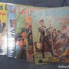 Cómics: LOS GENTLEMEN (CASTELLI &TACCONI) COLECCIÓN COMPLETA 5 ALBUMES DE GRIJALBO. Lote 263008310