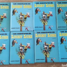 Cómics: LAS AVENTURAS DE LUCKY LUKE 8 TOMOS (CADA TOMO 4 AVENTURAS). Lote 263076995