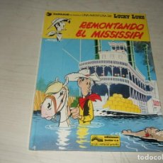 Cómics: REMONTANDO EL MISSISSIPI - LUCKY LUKE - GRIJALBO DARGAUD - TAPA DURA - 1978. Lote 263077260