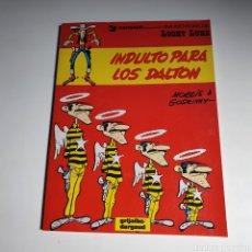 Cómics: CÓMIC, DE LUCKY LUKE, INDULTO PARA LOS DALTON. Lote 263120260