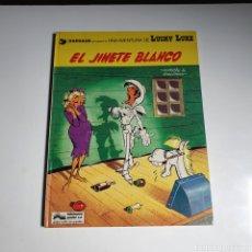 Cómics: CÓMIC, DE LUCKY LUKE, EL JINETE BLANCO, TAPA DURA, JUNIOR.. Lote 263120955