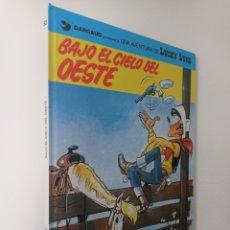Comics: LUCKY LUKE - BAJO EL CIELO DEL OESTE - GRIJALBO DAURGAUD NUM 52. Lote 263164335