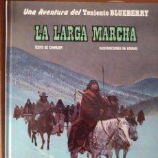 Cómics: TENIENTE BLUEBERRY – GRIJALBO/DARGAUD – TOMO Nº 20: LA LARGA MARCHA-NM. Lote 263187985