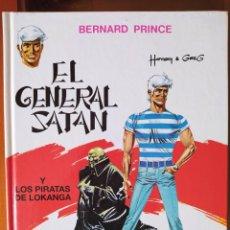 Cómics: DESCATALOGADO-BERNARD PRINCE. Nº 1. EL GENERAL SATAN-POR HERMANN Y GREG-TAPA DURA-GRIJABLO/JUNIOR-FN. Lote 263188870