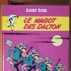 """Cómics: DESCATALOGADO-LUCKY LUCKE """"LE MAGOT DES DALTON"""" FRANCÉS AÑOS 80 DARGAUD -BUEN ESTADO. Lote 263189895"""