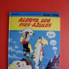 Cómics: ALERTA LOS PIES - AZULES LUCKY LUKE MORRIS DARGAUD GRIJALBO 1991 Nº 45. Lote 263265375