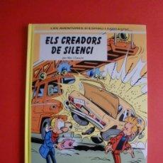 Cómics: ESPIRÚ I FANTASTIC ELS CREADORS DEL SILENCI NIC I CAUVIN JUNIOR GRIJALBO MONDADORI 1996. Lote 263268090