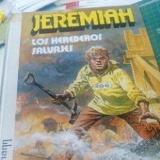 Comics: JEREMIAH. LOS HEREDEROS SALVAJES. Lote 263300495