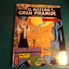 Cómics: LAS AVENTURAS DE BLAKE Y MORTIMER. EL MISTERIO DE LA GRAN PIRAMIDE. PARTE 2. (A-X). Lote 263546100