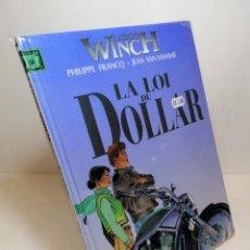 Cómics: COMIC LARGO WINCH LA LOI DU DOLLAR PHILIPPE FRANCQ Y JEAN VAN HAMME. Lote 263556370