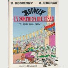 Cómics: ASTERIX I LA SORPRESA DEL CESAR. PLANETA JUNIOR. TAPA DURA. CATALAN. OFERTA 2X1. Lote 263748575