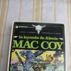 Fumetti: MAC COY Nº 1: LA LEYENDA DE ALEXIS MAC COY- GRIJALBO DARGAUD. Lote 263802565