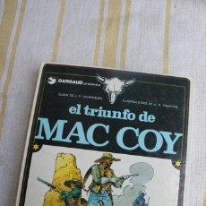 Fumetti: MAC COY Nº 4: EL TRIUNFO DE MAC COY- GRIJALBO DARGAUD. Lote 263802850