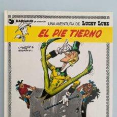 Cómics: LUCKY LUKE - EL PIE TIERNO - GRIJALBO DARGAUD NUMERO 4. Lote 263944255