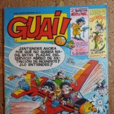 Cómics: COMIC DE GUAI! DEL AÑO 1986 Nº 3. Lote 264745544