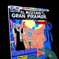 Cómics: MUY BUEN ESTADO LAS AVENTURAS DE BLAKE Y MORTIMER 2 EL MISTERIO DE LA GRAN PIRAMIDE GRIJALDO. Lote 265105964