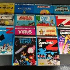 Fumetti: LOTE 14 TOMOS LAS AVENTURAS DE SPIROU Y FANTASIO EDICIONES JUNIOR GRIJALBO FRANQUIN - TOME & JANRY. Lote 265116239