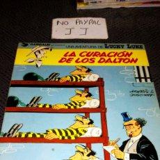 Cómics: LUCKY LUKE 5 LA CURACIÓN DE LOS DALTON TAPA SEMIRIGIDA. Lote 266015198