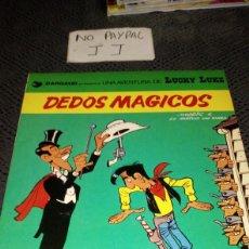 Cómics: LUCKY LUKE 26 DEDOS MÁGICOS TAPA SEMIRIGIDA. Lote 266015293