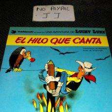 Cómics: LUCKY LUKE 10 EL HILO QUE CANTA TAPA SEMIRIGIDA. Lote 266015348