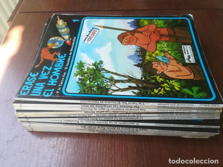 ÉRASE UNA VEZ... EL HOMBRE - GRIJALBO - COLECCIÓN COMPLETA 13 REVISTAS (Tebeos y Comics - Grijalbo - Otros)