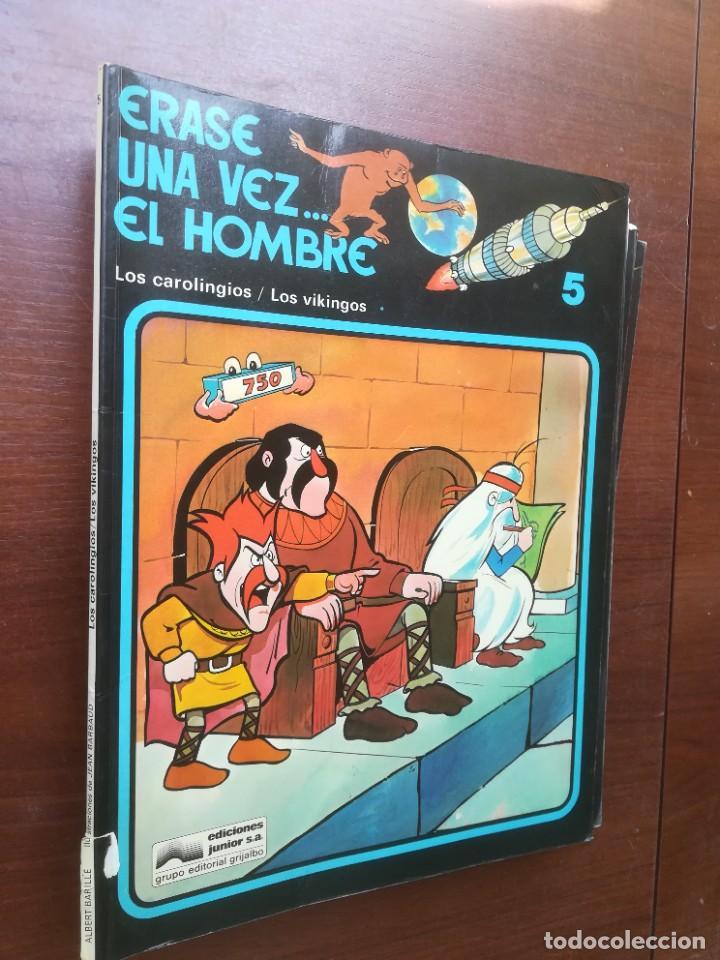 Cómics: ÉRASE UNA VEZ... EL HOMBRE - GRIJALBO - COLECCIÓN COMPLETA 13 REVISTAS - Foto 6 - 266319018