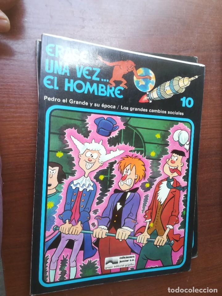 Cómics: ÉRASE UNA VEZ... EL HOMBRE - GRIJALBO - COLECCIÓN COMPLETA 13 REVISTAS - Foto 11 - 266319018