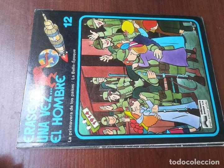 Cómics: ÉRASE UNA VEZ... EL HOMBRE - GRIJALBO - COLECCIÓN COMPLETA 13 REVISTAS - Foto 14 - 266319018