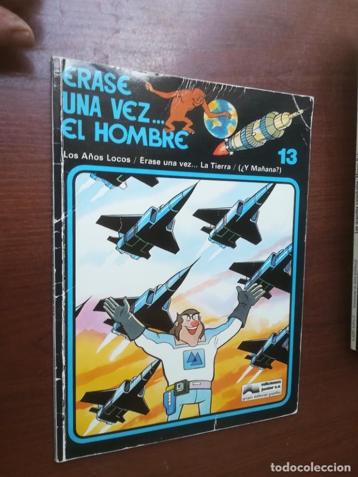 Cómics: ÉRASE UNA VEZ... EL HOMBRE - GRIJALBO - COLECCIÓN COMPLETA 13 REVISTAS - Foto 15 - 266319018