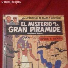 Comics : BLAKE Y MORTIMER 1 - EL MISTERIO DE LA GRAN PIRAMIDE 1ª PARTE - EDGAR P. JACOBS - CARTONE. Lote 266362933