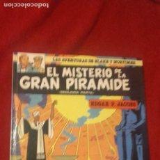 Comics : BLAKE Y MORTIMER 2 - EL MISTERIO DE LA GRAN PIRAMIDE 2ª PARTE - EDGAR P. JACOBS - CARTONE. Lote 266363008