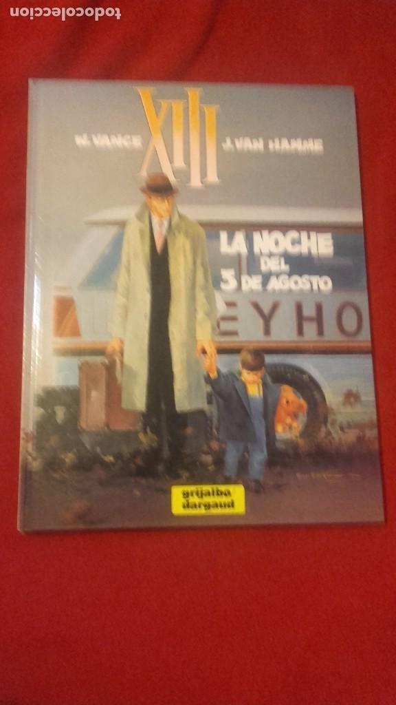 XIII 7 - LA NOCHE DEL 3 DE AGOSTO - VANCE & VAN HAMME - CARTONE (Tebeos y Comics - Grijalbo - XIII)