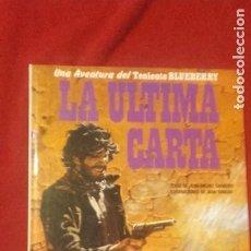 Comics : BLUEBERRY 24 - LA ULTIMA CARTA - CHARLIER & GIRAUD - CARTONE. Lote 266367628