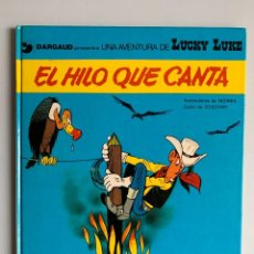 Comics: LUCKY LUKE - EL HILO QUE CANTA - GRIJALBO DARGAUD JUNIOR NUMERO 10. Lote 266576228