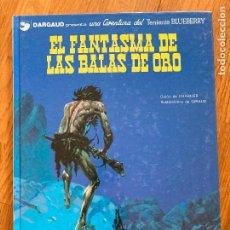 Cómics: TENIENTE BLUEBERRY 2 - EL FANTASMA DE LAS BALAS DE ORO - GRIJALBO - BUEN ESTADO. Lote 266840439