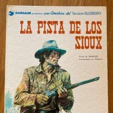 Cómics: TENIENTE BLUEBERRY 5 - LA PISTA DE LOS SIOUX - GRIJALBO - BUEN ESTADO. Lote 266841509