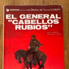 Cómics: TENIENTE BLUEBERRY 6 - EL GENERAL DE LOS CABELLOS RUBIOS - GRIJALBO. Lote 266842794